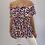 Thumbnail: Off the Shoulder  Animal Print Bardot Top - 3 colours
