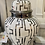 Thumbnail: White and Silver Aztec Ginger Jars - 2 sizes 40 cm and 30cm