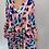 Thumbnail: Multi Colour Animal Print V Neck Maxi Dress