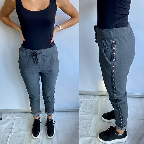 Grey Bling Magic Trouser