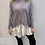 Thumbnail: Super soft grey jumper with white shirt look
