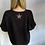Thumbnail: Black Knit Jumper with star detail
