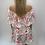 Thumbnail: White Off the Shoulder Ruffle Dress