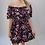 Thumbnail: Black Off the Shoulder Ruffle Dress