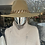 Thumbnail: Camel Fedora Hat with Gold Chain - One size