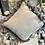 Thumbnail: Grey Velvet Cushion with Feather Trim - 45 cm