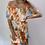 Thumbnail: Multi Colour Off the Shoulder Tier Dress
