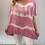 Thumbnail: Oversized Tie Dye Oversized Top with sequin trim bottom - Various Colours