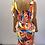 Thumbnail: Multi Colour Swirl Maxi Dress with Split - 3 Colours