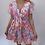 Thumbnail: Reversible Tie Summer Dress Blue