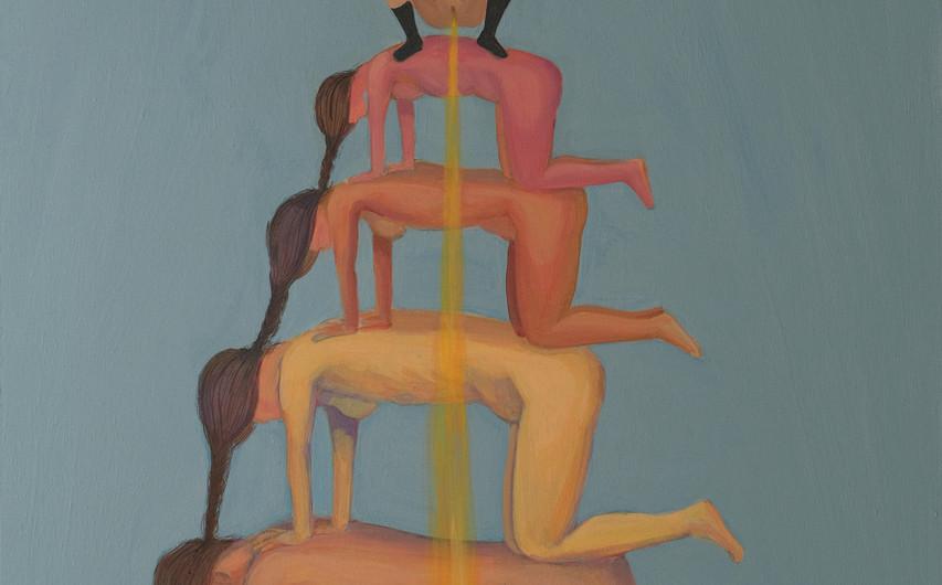 성불(Nirvana) acrylic_on_wood_51x75cm
