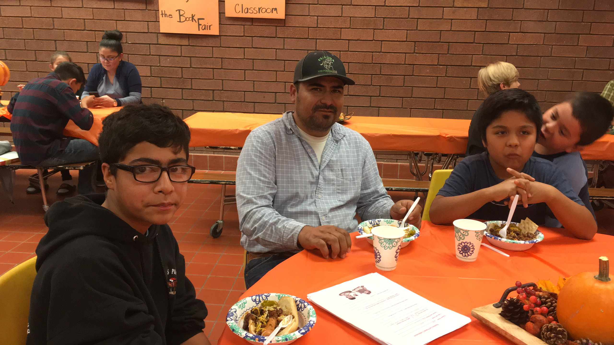 Families not only get to go to BMS to meet with teachers but to enjoy a good bowl of chili!