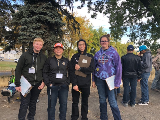 Buhl FFA students participated in AG Days at the University of Idaho.