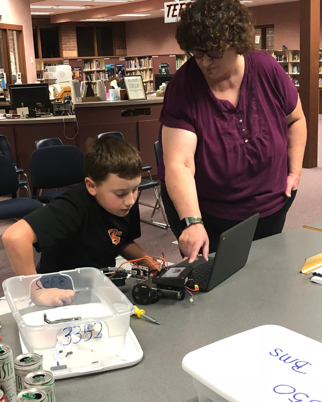 The Robotics Class in the Buhl Middle School has helped students learn about the progressing world of technology. Now the school board gets an inside look at how it's done.