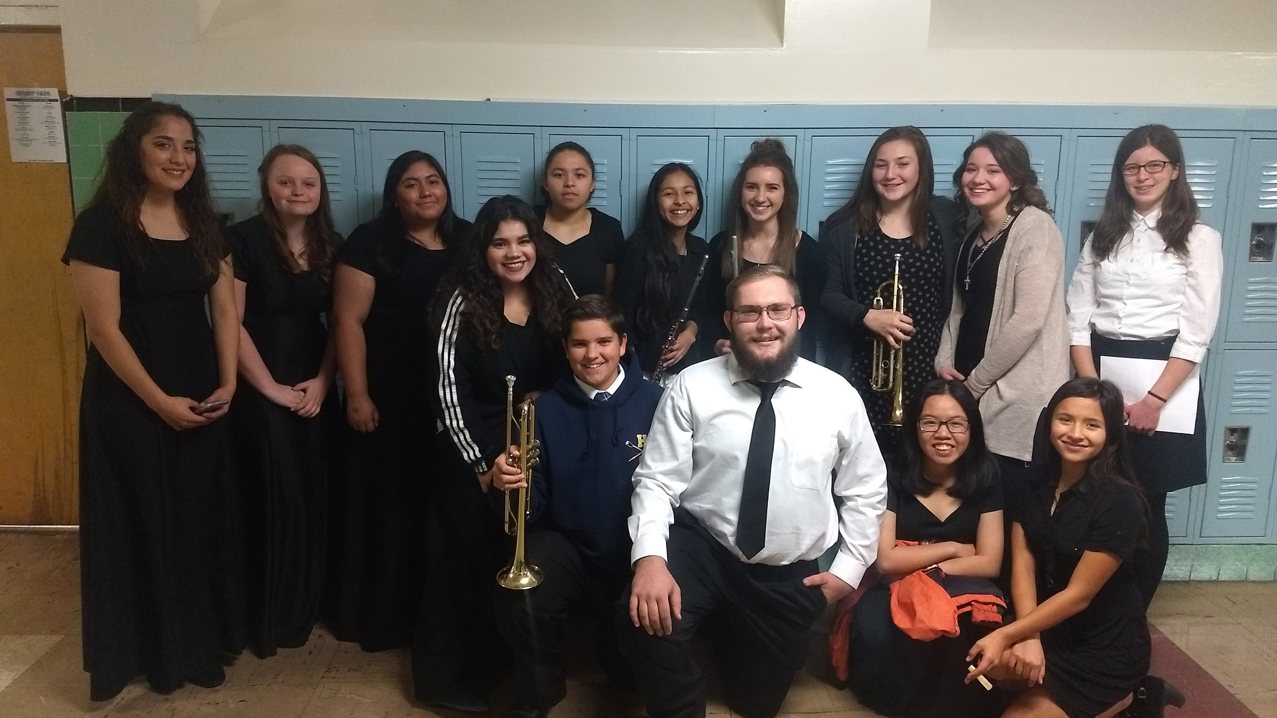 We had a great group of musically talented students who attended Honor Clinic this year.