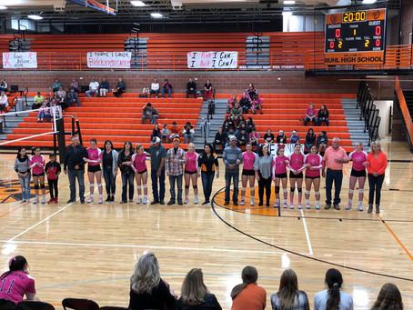 BHS Volleyball Senior Night