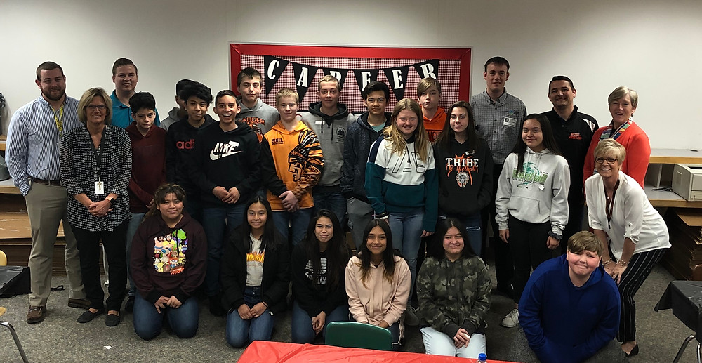 GEAR UP:BMS students learn about accounting, banking and small business.