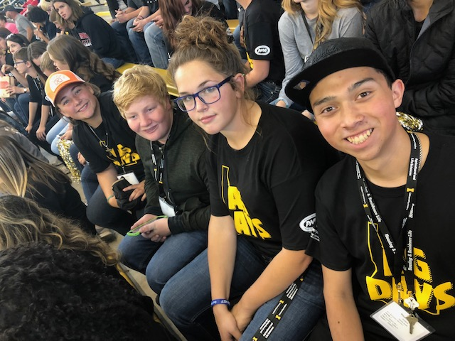 Buhl FFA students participated in AG Days at the University of Idaho. They had the opportunity of watching a UofI football game.