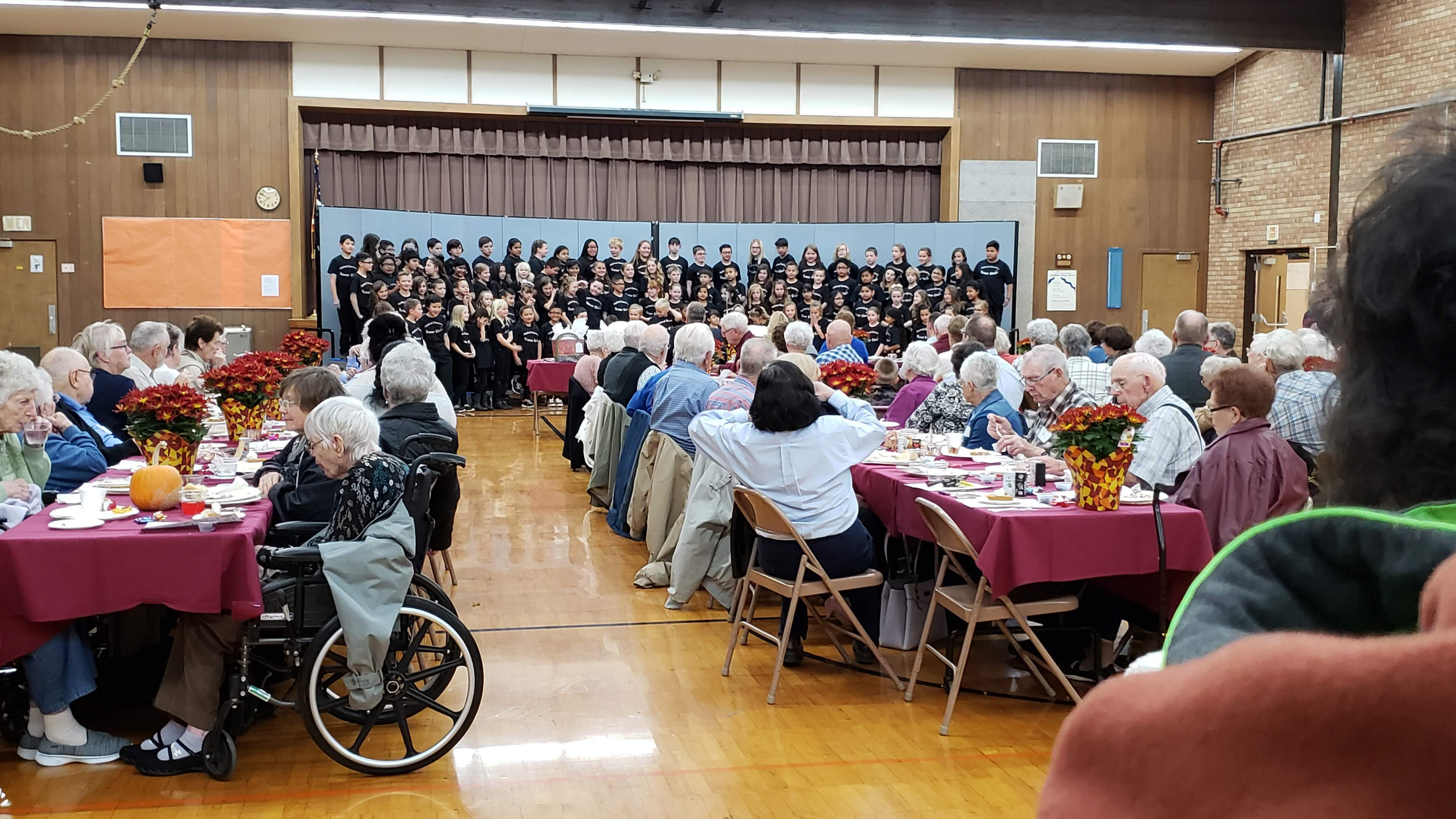 Buhl Rotary Hosted the annual Octogenarian Dinner at PES.