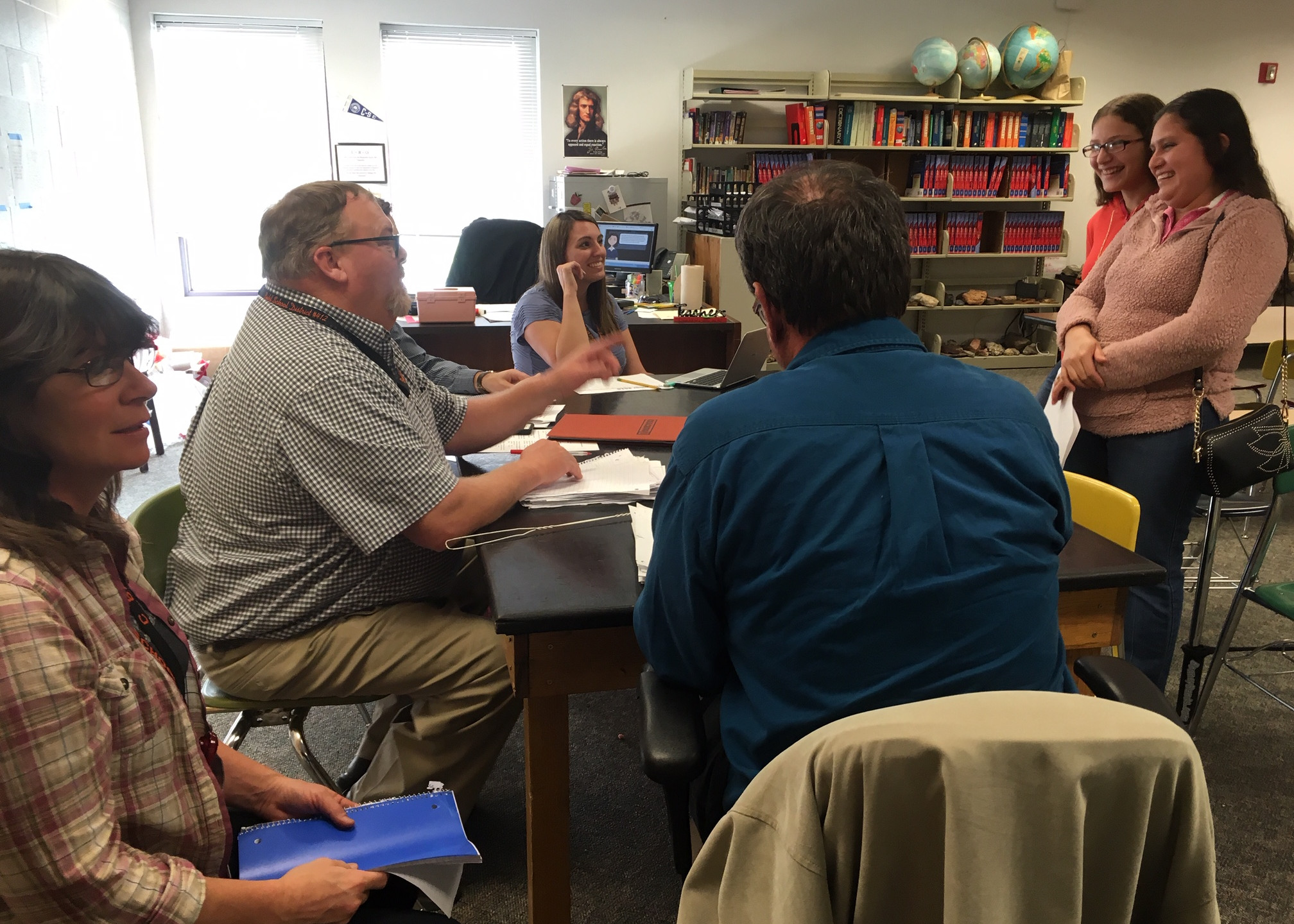 BMS parents find their students teachers easily and get the inside scoop on their progress.