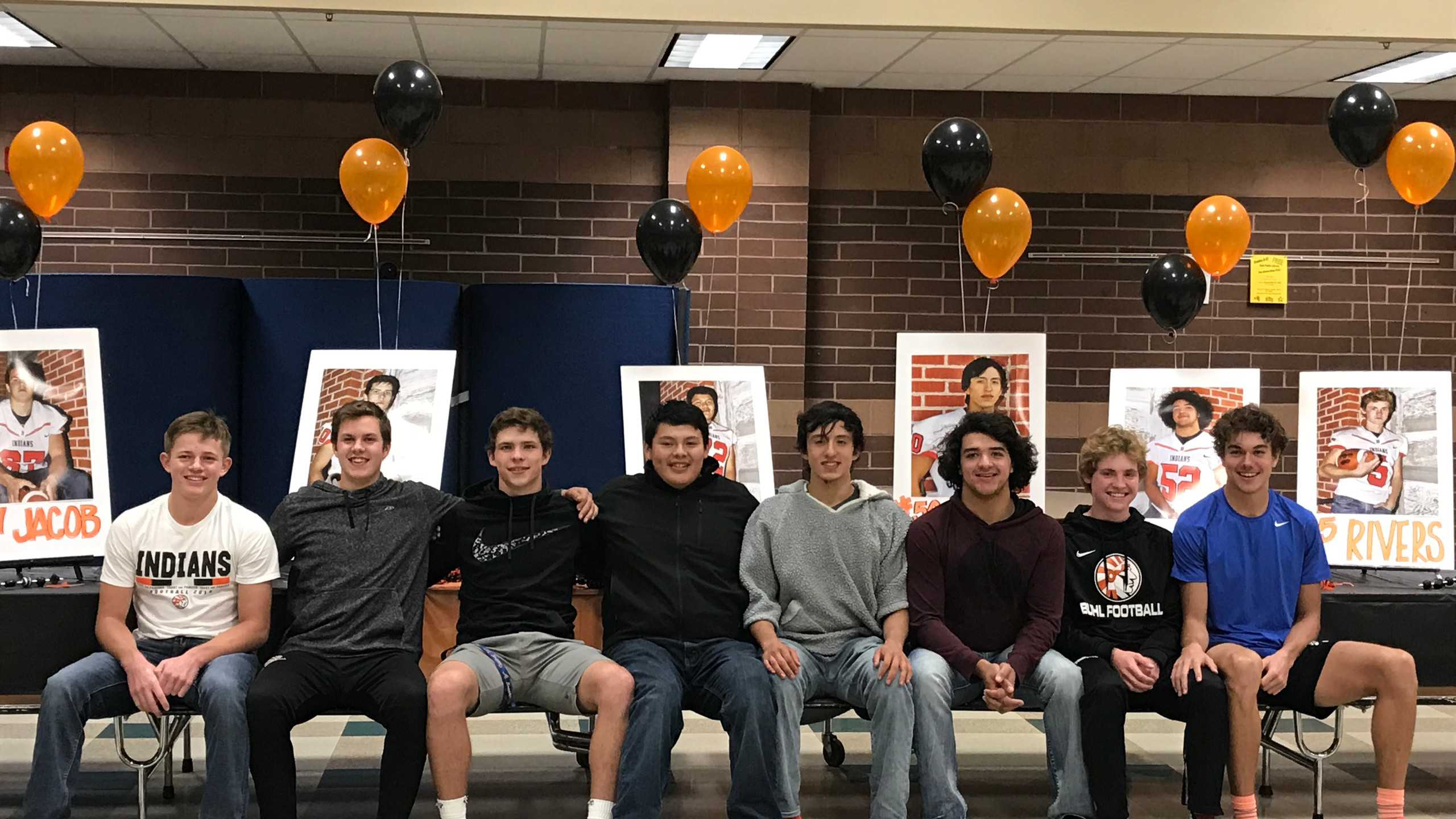 8 Senior boys will be saying goodbye to their BHS Football Career, but first we celebrate their time with us.