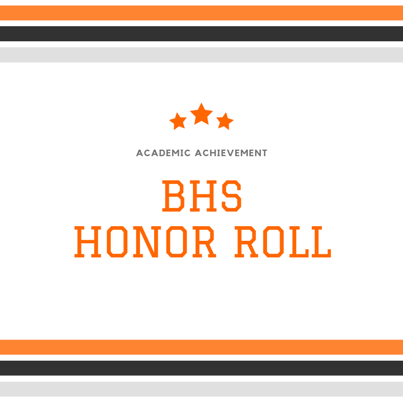 BHS Honor Roll Clip Art