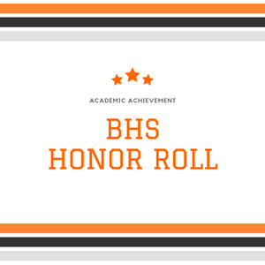 BHS Honor Roll Clip Art