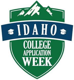 Idaho College Application Week Logo
