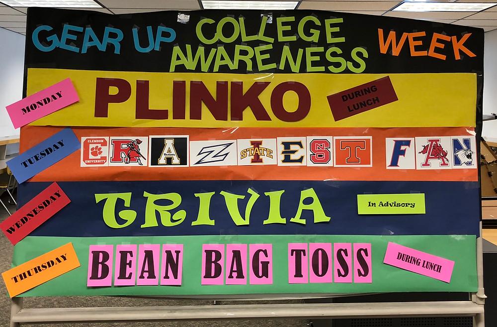 College Awareness Week Poster