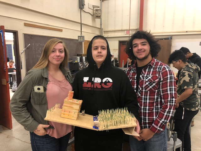 Fish and Wildlife Science Class get creative and build models to better understand wildfires.