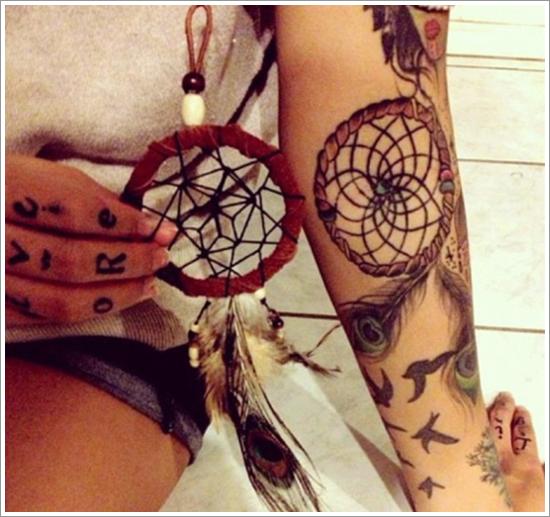 Dreamcatcher-Tattoo-Designs-35