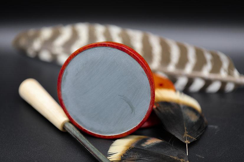 Zebra Wood Green Slate