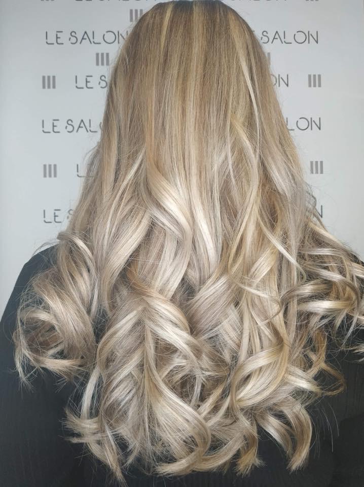 meche blondes salon de coiffure salon de provence