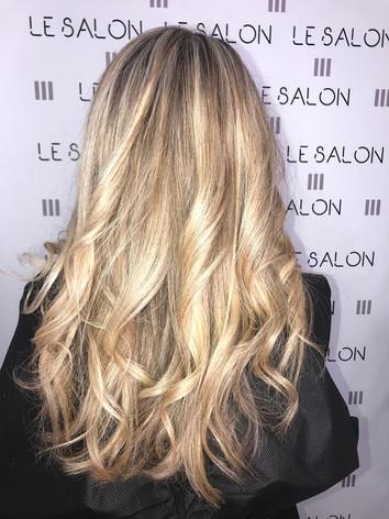 couleur blond coiffeur salon de provence
