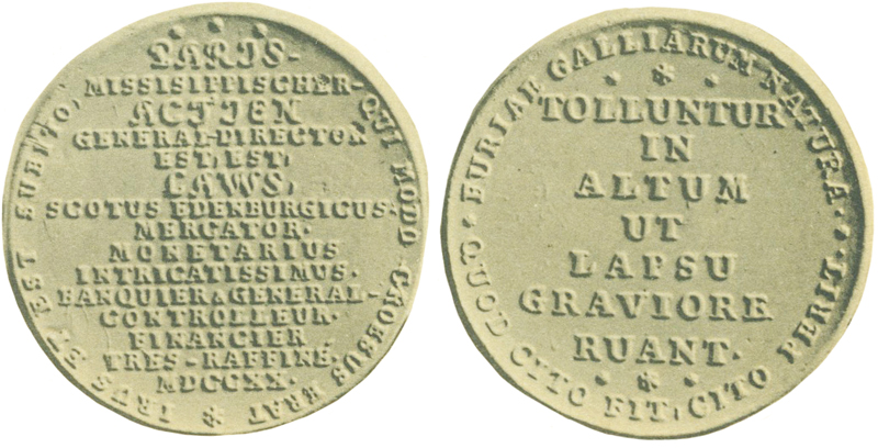 Spottmedaille von 1720