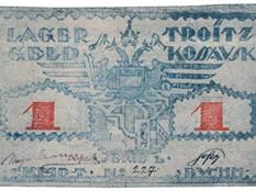 Lagergeld aus russischen Kriegsgefangenenlagern des Ersten Weltkriegs