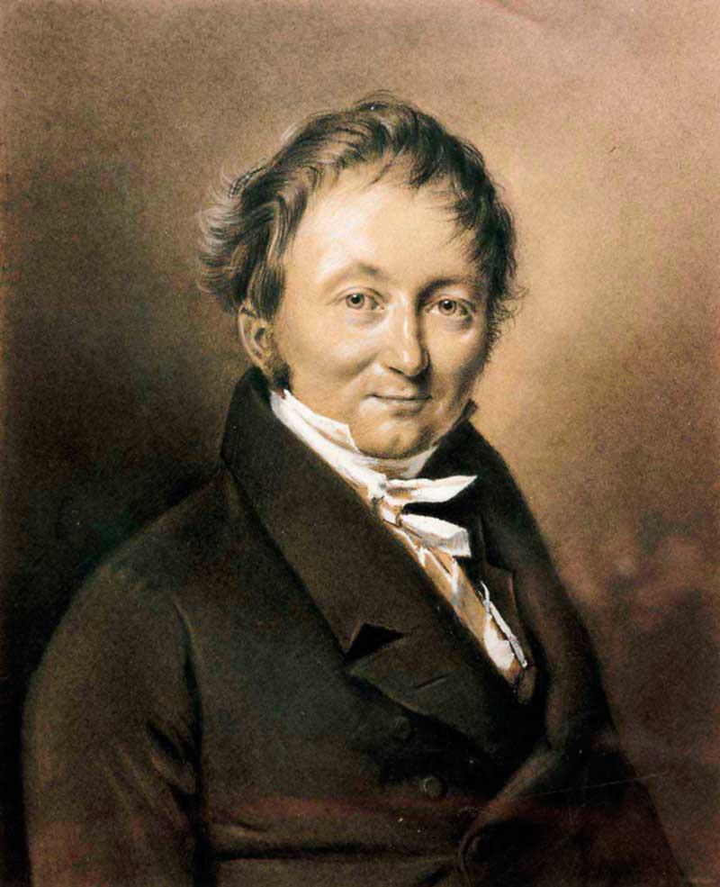 Karl Freiherr Drais von Sauerbronn, 1820