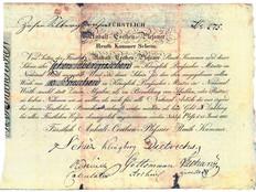 Rentkammerscheine des Herzogtums Anhalt-Cöthen
