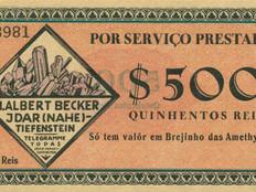 Aus dem Archiv: Von der Nahe nach Brasilien – ein deutsch-brasilianisches Ersatzgeld