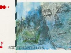 Geldscheine und Musik: Maurice Ravel