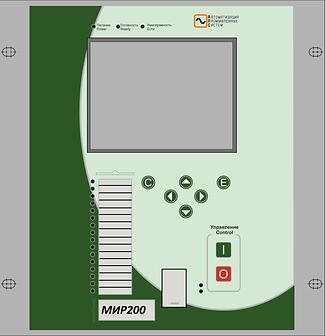 МИР 200 – терминал БАВР 0,4-35кВ. Форм ф