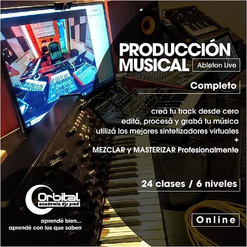 PRODUCCIÓN MUSICAL inc. Mezcla/Mastering