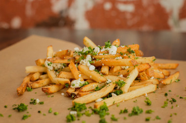 Garlic Feta Fries