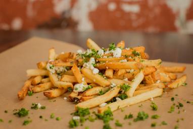Garlic Feta Fries