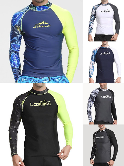 Men's UPF 50+ UV Protection Long Sleeve