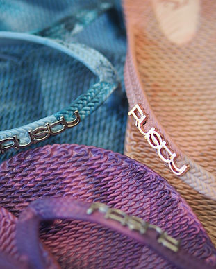 Rusty women's jandals thongs flip flops Rarotonga