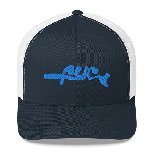 FYC Fish Tails Vintage Mesh Trucker Hats