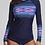 Thumbnail: Womens Long Sleeve UPF50+ Rashguard Swimsuit