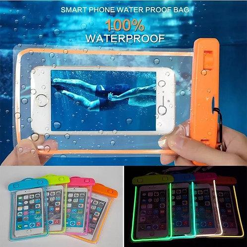 Luminous Waterproof 6 Inch  Phone Bag for your phone