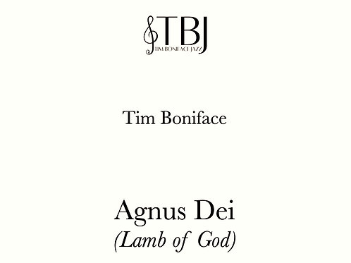 AGNUS DEI - Scores + license for 5 x parts